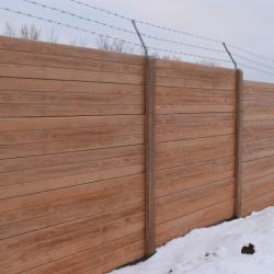 Skládaný plot DEKOR