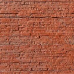 Jednostranná deska - Vzor Cihlička - Základní červená