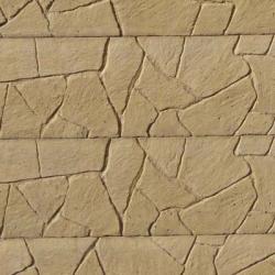 Oboustranná deska - Vzor Skládaný kámen - Písková