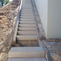 schodišťové bloky tryskané