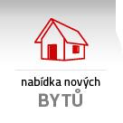 Nabídka nových bytů v bytových domech
