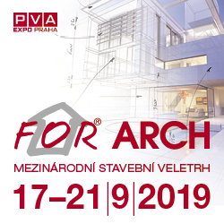 Výstava FOR ARCH 2019